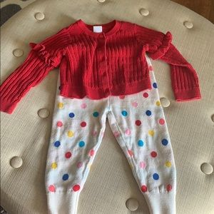 Baby girl outfit 12-18 months gap